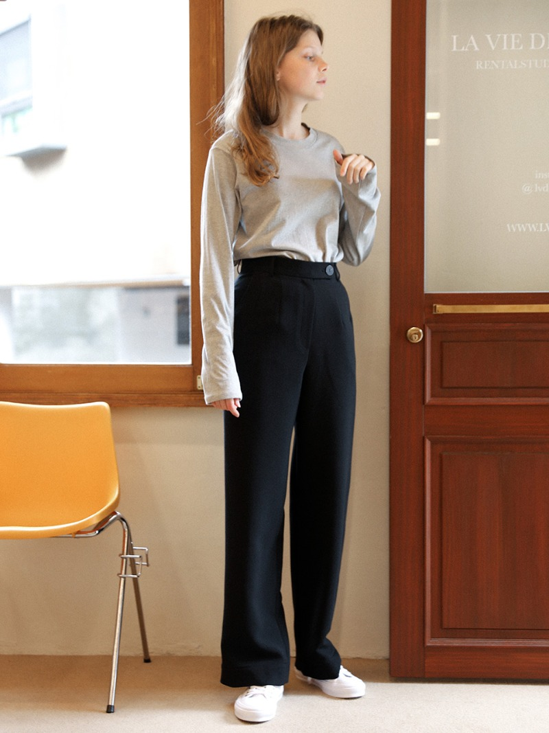 3.29 WIDE SLACKS_BLACK