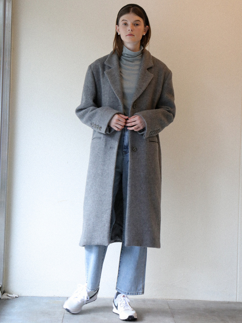 1.17 HERRINGBONE COAT_GREY