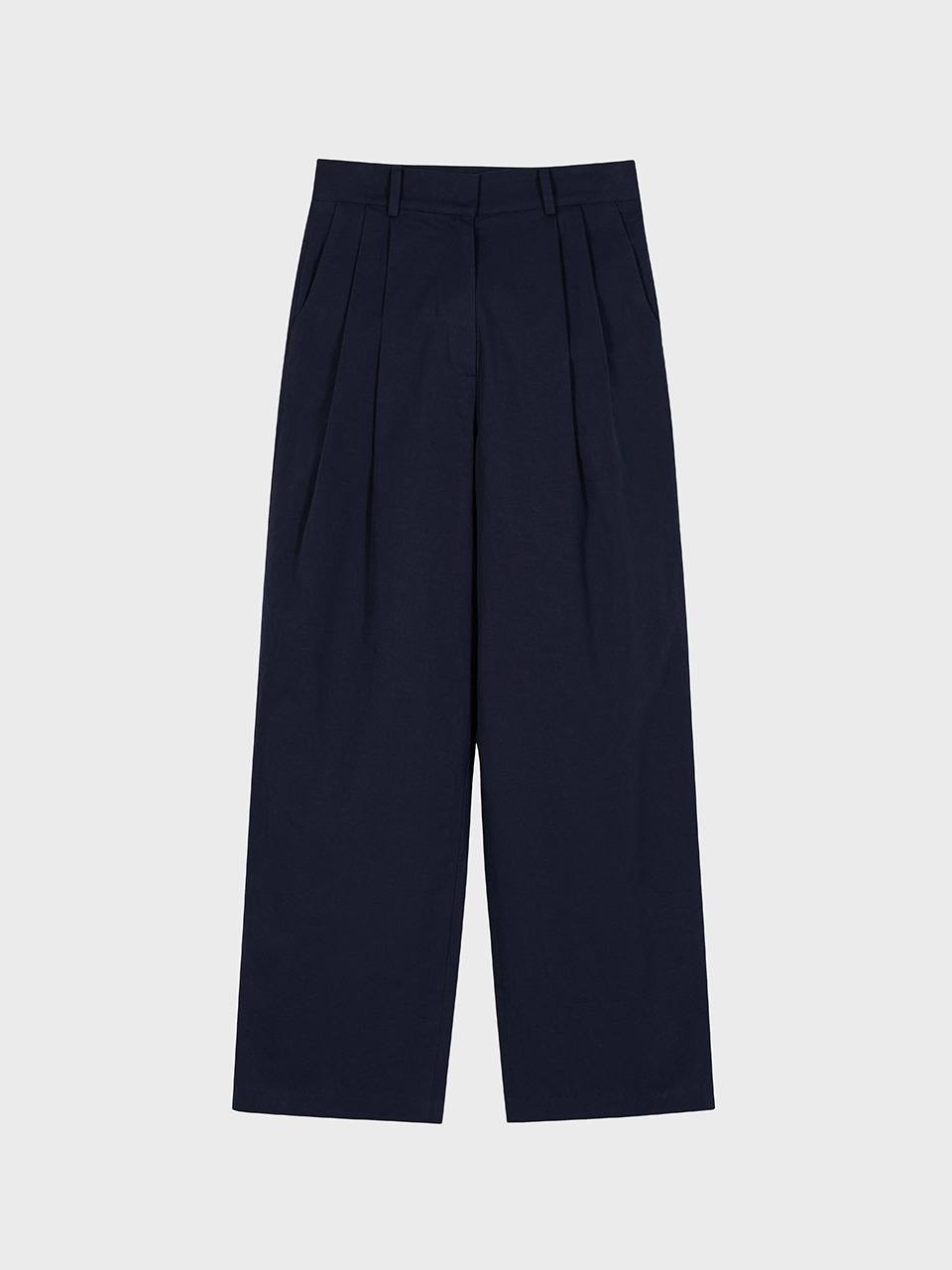 3.41 COTTON TROUSERS_LIGHT NAVY